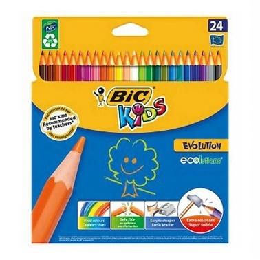 Bic 24Lü Boya Kalemi Renkli